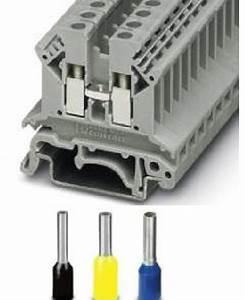 Din Rail Mounting Terminal Block And Pin Terminals