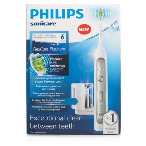 Philips Sonicare FlexCare Platinum with UV Head Sanitiser