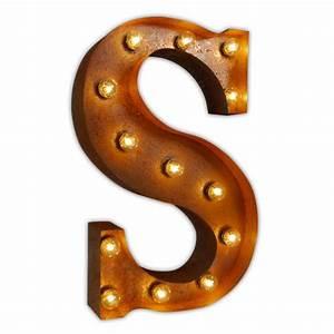 letter light s vintage letter lights uk alphabet light With initial letter lights