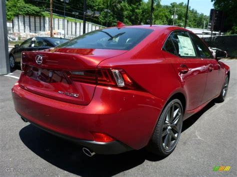 lexus is 250 red interior 2014 matador red mica lexus is 250 f sport awd 82500610
