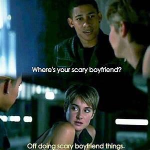 Tris and Uriah - Insurgent: The Movie Photo (38324463 ...