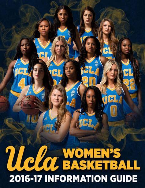 ucla womens basketball information guide  ucla