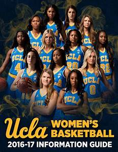 2016-17 UCLA Women's Basketball Information Guide by UCLA ...