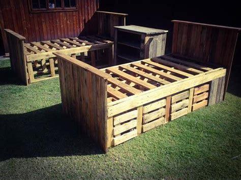 diy pallet beds  storage