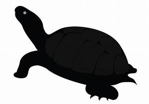 Best Turtle Silhouette #12979 - Clipartion.com