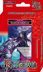 Force, Of, Will, Rezzard, The, Undead, Lord, Seven, Kings, Starter, Deck
