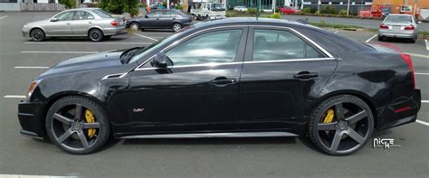 Black Rims For Cadillac Cts by Cadillac Cts Niche Milan M134 22x