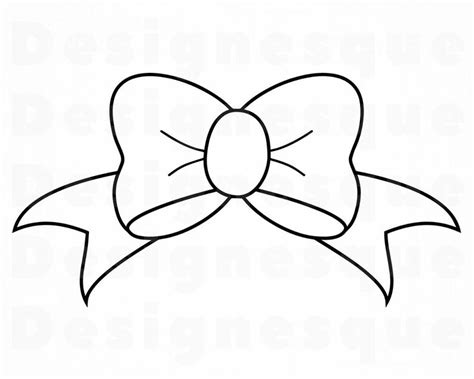 bow outline svg bow tie ribbon svg bow clipart bow files