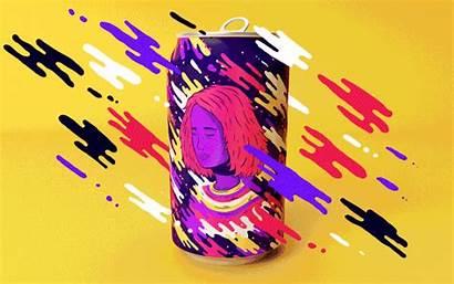 Soda Lucas Pop Cans Animated Resonance