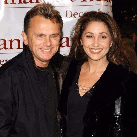 pat sajak wife lesly daughter brown sherrill married children divorce met they second he singer son opening california sports