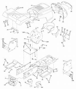 Poulan Po165h42c Parts List And Diagram