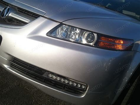 Acura Lights by 2005 Acura Tl Gets 9 Led Daytime Running Lights Ijdmtoy