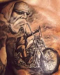 biker pin up girls tattoos | 50 Motorcycle Biker Tattoos ...
