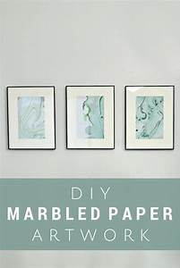 MARBLED PAPER ART USING NAIL POLISH - Mad in Crafts
