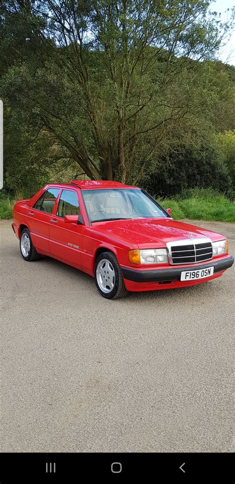 Being sold as a project car or for parts. 1989 Mercedes 190E SOLD | Car And Classic