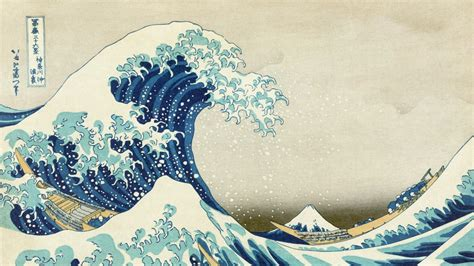 japanese wave wallpaper wallpapersafari