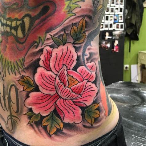 beautiful peony tattoos collection