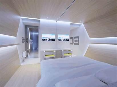Future Hotel Futuristic Sharing Evolve Concept Eco