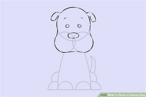 pictures   draw cartoon dogs drawings art gallery
