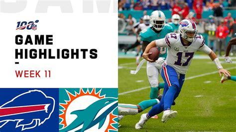 bills  dolphins week  highlights nfl