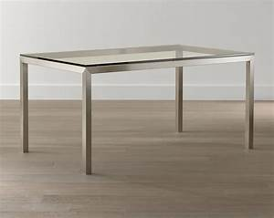 20 sleek stainless steel dining tables With stainless steel and wood dining table