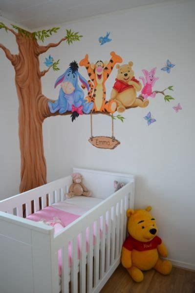 Kinderzimmer Gestalten Winnie Pooh by S 252 Sse Winnie Pooh Wandbemalung Im Kinderzimmer