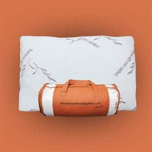 bamboo pillow with cool comfort bamboo derived rayon With cool feel pillows