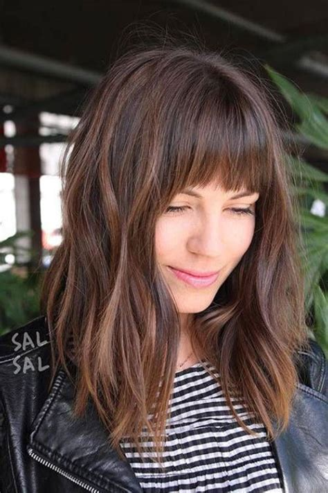 Hairstyles With Bangs by 20 Hairstyles With Bangs 2019 Hairstyles And