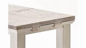 Esstisch Ausziehbar In Weiß : esstisch tisch aus massiver kiefer in vintage wei ausziehbar ~ Frokenaadalensverden.com Haus und Dekorationen