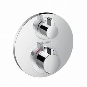 Hansgrohe Unterputz Thermostat : hansgrohe ecostat s thermostat unterputz f r 2 verbraucher 15758000 reuter ~ Watch28wear.com Haus und Dekorationen