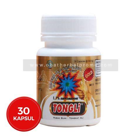 jual borobudur herbal tongli gold 30 kapsul obat stamina pria alami di lapak obatherbalprom0