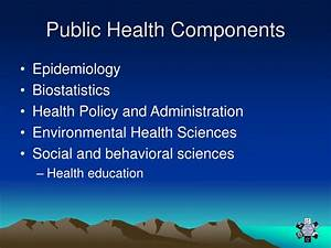 PPT - Overview of the Role of Public Health in Disaster ...