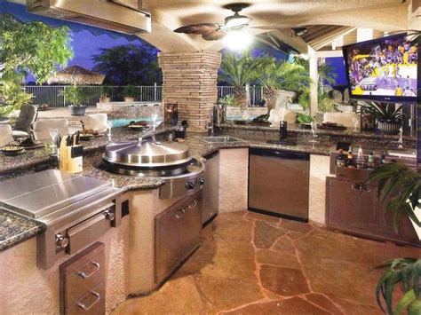 indoor outdoor kitchen designs 252 best outdoor cooking images on backyard 4661