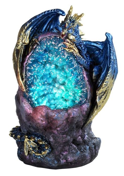 blue dragon aqua led crystal stone gsc imports