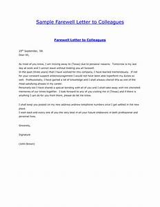 farewell letter to coworkers russianbridesglobal With farewell letter to colleagues template