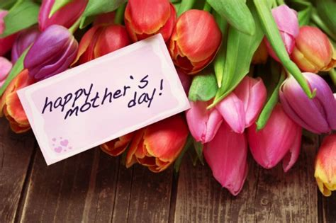 happy mothers day tulip flowers picture
