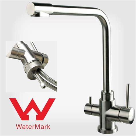 Kitchen Mixer With Water Filter by Stainless Steel 1 2 Inch Adaptor For 3 Way Mixer Taps