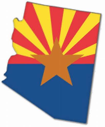 Flag Arizona Clipart State Transparent Pinclipart
