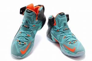 """Nike LeBron 12 """"Miami Dolphins"""" Turquoise/Grey-Crimson ..."""
