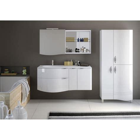 meuble de salle de bains blanc elegance leroy merlin