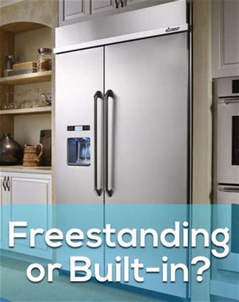 Blog   Freestanding Vs. Built In Refrigerators: What's the