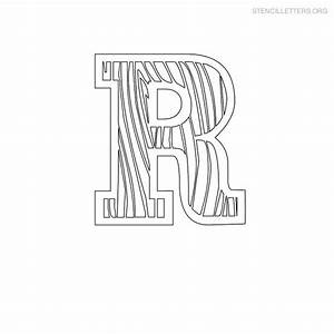 stencil letters r printable free r stencils stencil With letter stencils for wood
