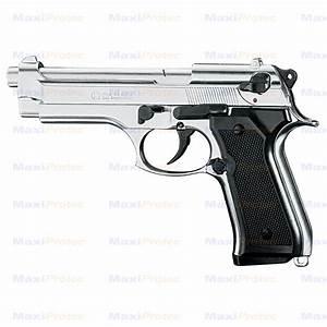 Vidéo De Pistolet : pistolet type beretta 92 f chrom cal 9mm ~ Medecine-chirurgie-esthetiques.com Avis de Voitures