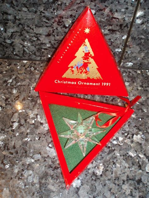 swarovski christmas ornaments 1991 catawiki