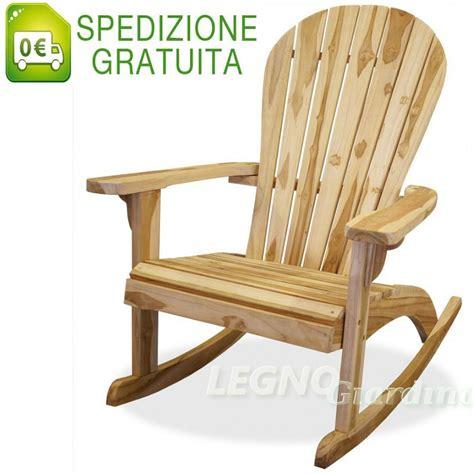 sedia a dondolo legno sedia a dondolo in legno teak con braccioli