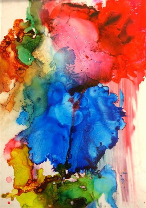 6th Grade Abstract Art Art Massac 3 Transparencies 5x8