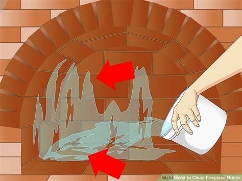 how to clean brick fireplace how to clean fireplace bricks 11 steps with pictures