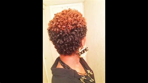 awesome perm rod set  natural hair  heat youtube