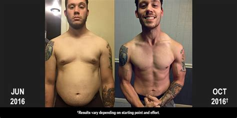 Dustin Lost 52 Pounds With 21 Day Fix
