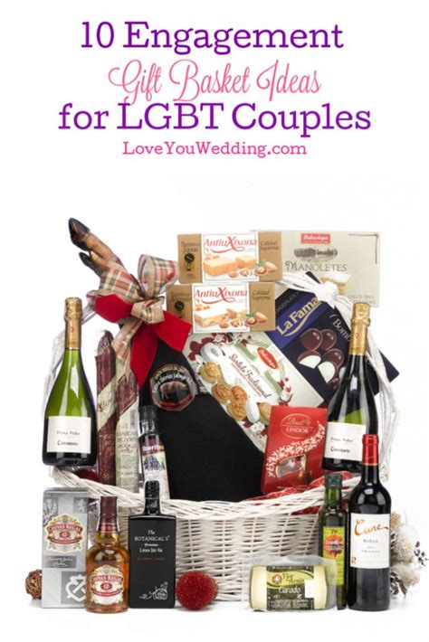 10 Engagement Gift Baskets Ideas for LGBT Couples Love